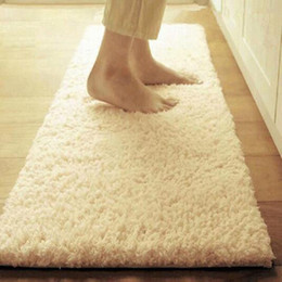 Wholesale Home Lamb - Soft Lamb Carpets For Bedding Room Yoga Mat Plush Fabric Fluffy Rugs Anti-Skid Shaggy Carpet Home Decoration
