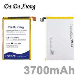Wholesale Ericsson Zl - Da Da Xiong 3700mAh LIS1501ERPC Li-ion Phone Battery for Sony Ericsson Xperia ZL L35H lt35i C6503 C6506 C6502