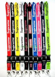 Wholesale Cell Phones Clothes - FREE SHIPPING Hot 20pcs lot Clothing brand Lanyard for MP3 4 cell phone key chain lanyards wholesale