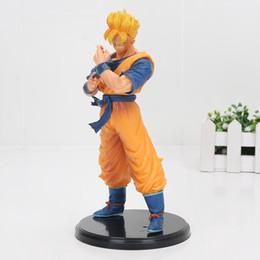 Wholesale Banpresto Figure - 20cm Banpresto Dragon Ball Z Figure Son Gohan Resolution Of Soldiers Vol 6 Gohan Super Saiyan DragonBall figure action Toys