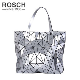 Wholesale new fashion korean handbag - Wholesale-BAOBAO Women Top-Handle Bag New Designer Luxury Famous Brand Lady Fashion Geometry Female Shoulder Handbags Big Totes BAO BAO