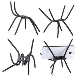 Wholesale Mobile Blue Book - Universal Ajustable Spider Multi Function Grip Mobile Phone Holder Stand Mount for iPhone Samsung Smartphone Bicycle MP4 Book