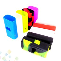 Wholesale Silicon Protective Cover - Silicone Case for Sigelei Kaos Spectrum Mod 230W Mod 10 Colors Rubber Sleeve Box protective Cover Protector Skin DHL Free