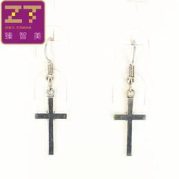 Wholesale Retro Cross Earrings - Hot fashion drop earrings Bijoux Wholesale Retro Cross Statement earrings 2016 new listing dangling earrings for women jewelry