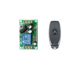 Дистанционная система онлайн-Оптовая продажа-DC12V 10A 1CH RF беспроводная система дистанционного управления 55*32*16 mm 1 * приемник 1 * лампа передатчика / светлый регулятор