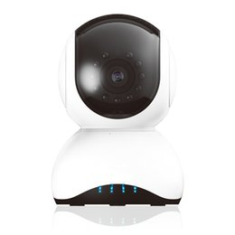 Wholesale night vision ptz camera - PTZ control HD 720P Infrared night vision motion detection WIFI home security mini baby monitor police type IP camera