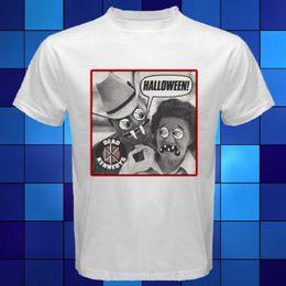 Wholesale Punk Style T Shirt - New Dead Kennedys Halloween Punk Rock Band White T-Shirt Size S M L XL 2XL 3XL T-shirt Summer Style Fashion Men T Shirts