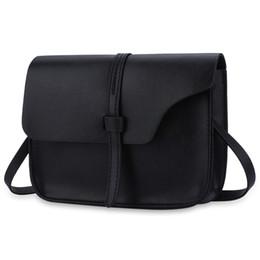 Wholesale Wholesale Messenger Bags For Women - Wholesale-2016 Vintage Frosted Leather Women Shoulder Bag Spring Summer Mini Bags for Female Belt Small Flap Crossbody Messenger Bags