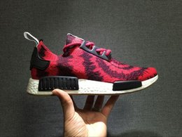 Wholesale Nice Cheap Shoes - Wholesale 2016 NMD Runner PK x Nice Kicks ultra boost men and women running shoes Sneakers cheap fashion Athletic nmd running boost shoes