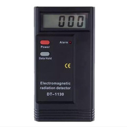 Wholesale High Measurement - High Quality LCD Digital Electromagnetic Radiation Detector EMF Meter Dosimeter Tester Radiation Measurement