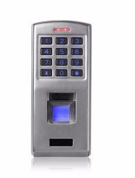 Wholesale Waterproof Fingerprint Access Control - IP65 125kHz RFID proximity Full metal outdoor Waterproof fingerprint access control with keypad