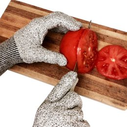 Wholesale Christmas Hand Work - Cut Resistant Gloves Kitchen Glove with Food Grade Level 5 safety Hand Protection Light-weight Work Gloves christmas gifts for housewife