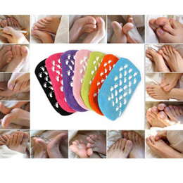 Wholesale Silicone Foot Products - Best Selling 2017 Product Gel SPA Socks Gel Moisturizing Nourishfoot Mask Beauty Mask Feet Care Silicone Sock