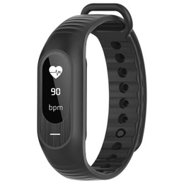 Wholesale Heart Rate Monitors Women - B15P Men Women Smart Bracelet Heart Rate Blood Pressure Fitness Monitor Watch Fashion Casual Stopwatch Alarm Wristwatches