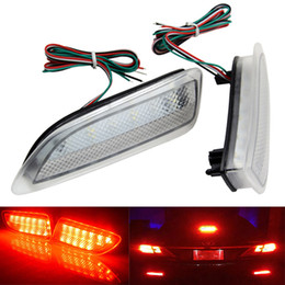Wholesale fog lamp for toyota corolla - DC 12V Clear Lens 13-SMD Rear Bumper Brake Reflector LED Brake Tail Rear Light Fog Light Lamp For Lexus CT200h Toyota Corolla