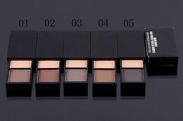 Wholesale Brow Shader - Hot Selling Makeup New 2 Colors Eyeshadow Eyebrow Powder Brow Shader 1Pc Free Shipping