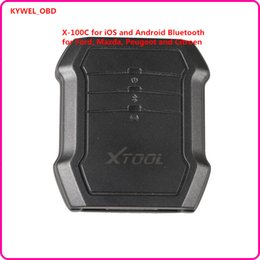 Wholesale Citroen C Key - 2017 Original Xtool X100 X-100 C for iOS  Android Bluetooth 2 in 1 key programmer and pin code reader for Ford, Mazda, Peugeot and Citroen