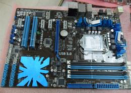 Wholesale I7 Cpu 1156 - motherboard P7P55D-E LX DDR3 LGA 1156 P55 16GB for I5 I7 CPU USB2.0 USB 3.0 Desktop motherborad
