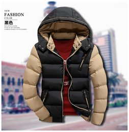 Wholesale Winter Hats Wholesale China - Wholesale- T china cheap wholesale 2016 autumn winter new men fashion casual slim thickening Keep warm cotton-padded jacket outerwear
