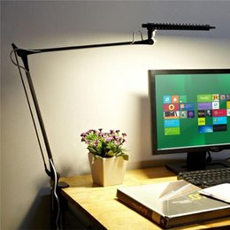 Wholesale Giant Led - Smart Professional Architect Swing Adjustable Arm, Stepless Dimming Touch Control, Giant Eye-care 12W LED Desk Lamp Warm White Table Lamp