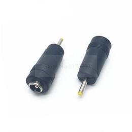 Jack de tomada de pc power dc on-line-200 PCS 2,5 mm x 0,7 mm plugue macho para 5,5 mm x 2,1 mm fêmea Jack Power Adapter DC