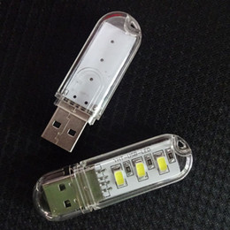 carregador usb lâmpadas Desconto Mini USB LED luzes Do Livro 5730 Lâmpadas Lâmpada de Acampamento Para PC Laptops Computador Notebook Carregador de Energia Móvel Lâmpada de Leitura luz Da Noite