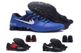 Wholesale Tennis Shoes Cheap Prices - Cheap basketball shoes men air shox avenue 803 R4 NZ man shox turbo sports designer sneakers for mens running discount price with box