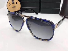 Wholesale High Quality Wooden Boxes - 5820 Zegna High quality brand designer fashion men fashion sunglasses female models retro style UV380 with original box