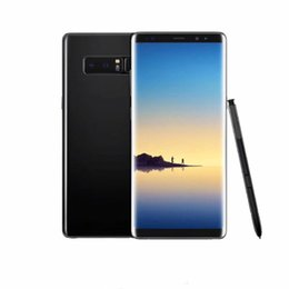 Wholesale Note 8gb - Goophone note8 6.3inch Real fingerprint Note8 MTK6580 Quad Core 1G 8GB Note 8 Show 4G ram 64G rom show 4g lte Smartphone