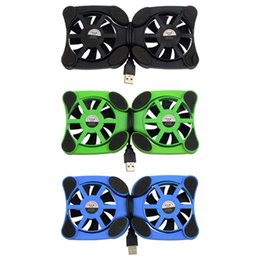 "Wholesale Usb Octopus Port - 1pcs USB Port Mini Octopus Notebook Fan Cooler Cooling Pad For 7""-15"" Laptop Hot Worldwide 2016"