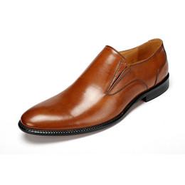 Eur 45 46 47 Oxfords Respirant Marron / Noir Pointu Toe Automne Mocassins Mens Robe Chaussures Véritable En Cuir D'affaires Chaussures Formelle Chaussures De Mariage ? partir de fabricateur