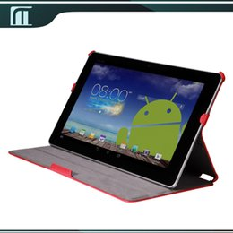 Wholesale Trio Cases - Wholesale-for ASUS Transformer Book Trio TX201LA TX201 11.6 inch PU Leather Case Cover with Stand High Quality Flip Cover Tablet PC