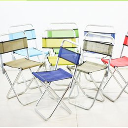 Wholesale Green Portable Chairs - Outdoor Folding Chairs Portable Fishing Chairs Outdoor Leisure Picnic Folding Camp Chair Small Fishing Chair for Fishing Folding Stool