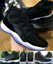 "Wholesale Basketball Number 23 - With Box + Number ""45"" ""23"" Retro 11 XI Spaces Jams Basketball Shoes For Women Men High Quality Air 11s space jam jumpman Sneakers 36-47"