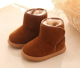 Wholesale Kids Boots Size 12 - US size: 5.5-12 Hot Sale Boots Shoes Kids PU Patchwork Slip-resistant Fashion Martin Boots Girls Ankle Boots