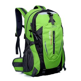Wholesale Campus Bag Backpack - Men's Outdoor Backpack Waterproof Nylon Travel bag Campus Backpack Schoolbag Laptop Backpacks Camping Hiking Bags free shipping B016