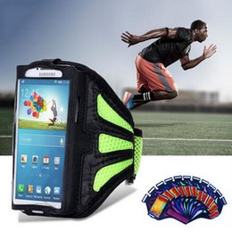 Wholesale Galaxy Note Sports Case - For universal Galaxy Note 2 3 pour Iphone6 6S for 5.7 inch Smartphone Armband Case Running Sports Waterproof Cover Phone Bag
