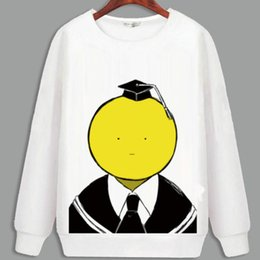 Wholesale Cartoon Characters Sweaters - Assassination Classroom hoody New arrive anime sweatshirt Autumn keep warm hoodies Cartoon sweat shirt Quality sweater