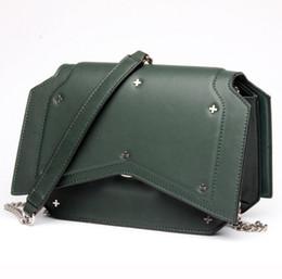 Wholesale Korean Style Lady Hobo Handbags - Women's bag 2017 new trend leather handbag fashion casual shoulder diagonal package brand cowhide ladies bag