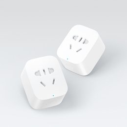 Wholesale Plug Remote - Wholesale-Original Xiaomi Smart Socket Plug Charger Basic WiFi APP Wireless Remote EU US UK AU Socket Adaptor Power on and off with phone