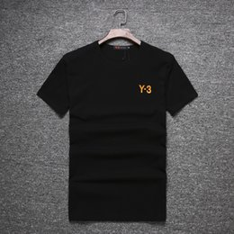 Wholesale Couple Tees - New In the summer top quality 1:1 Y-3 Couple Lovers T-shirt MEN Ms Women Camisetas Mujer Tees Men Short Sleeve O-neck Y3 Casual T Shirts