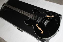 Wholesale Semi Bass - free shipping G 4strings black 335 Electric bass