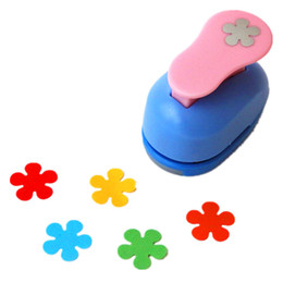 Wholesale Craft Flower Punches - Wholesale- 2.5cm Flowers punch diy craft hole punch eva foam puncher Kids scrapbook paper cutter scrapbooking punches Embossing