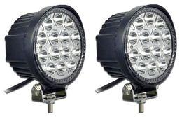 Wholesale Xenon Atv - xenon white 42W LED WORK LIGHT FLOOD OFFROAD LAMP TRUCK UTE BOAT ATV DRIVING 12V 24V dc