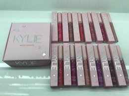 Wholesale Pink Lip Gloss Wholesale - 2017 Kylie Jenner take me on vacation Liquid Lipstick 12 Different Colors I WANT IT ALL kylie cosmetics lip gloss pink lipgloss dropshipping