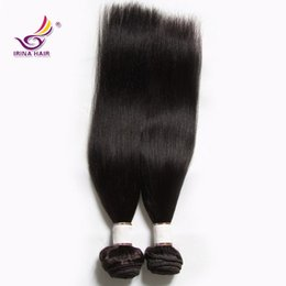 Wholesale Yaki Hair Prices - 2017 new arrival hot selling wholesaleprice Brazilian Peruvian yaki straight hair weft 3 Bundles  lot Virgin Remy free shipping