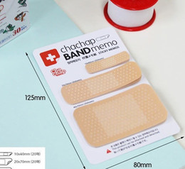 Wholesale Adhesive Memo Pad - Wholesale- 10pcs pack office & school stationery creative tie series cute paper stickers note post self-adhesive memo sticky notes pads
