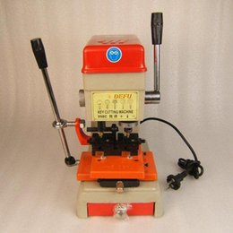 Wholesale Machine Key Cutting Tool - Laser Defu Cutter Key Cutting Machine 368a With Full Set Cutters Tools Parts Free Shiping