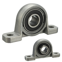 Wholesale 12mm Ball Bearings - Wholesale- High precision Zinc alloy 12mm Width Metal Self-adjust Pillow Block Ball Bearing Long service life Easy to install