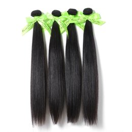 Wholesale Virgin 5pcs Mixed - 6A Unprocessed Queen hair Products 5 or Mix 5pcs Lot Straight Peruvian Virgin Hair Extensions Wholesale Natural Color
